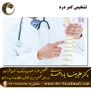 تشخیص کمر درد
